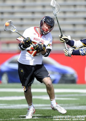 Jay Carlson provided a tremendous offensive spark for the Terps and netted three goals against Drexel.