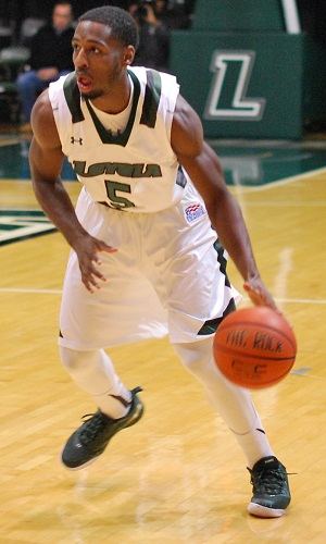 Eric Laster scored 18 points and hit the go-ahead three to lead Loyola to their third-straight.